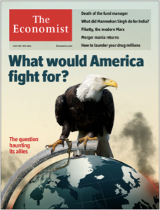 Economist cover - Marc Morgan