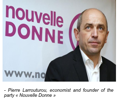 Pierre Larrouturou, economist and founder of the party